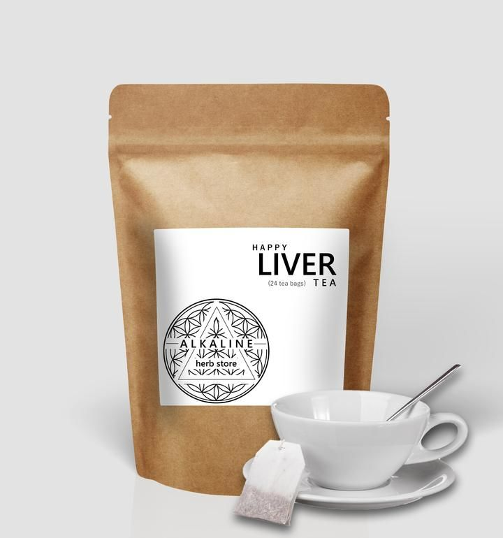 Liver Inflammation-Reducing Teas