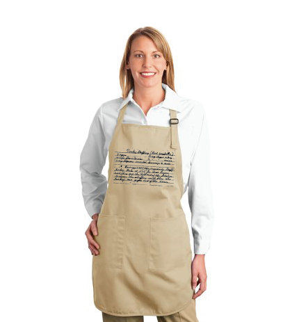Generational Recipe Aprons