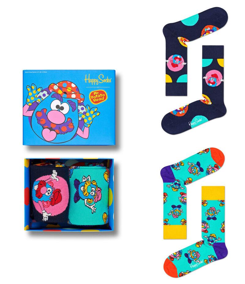 Vibrant Toy-Inspired Socks