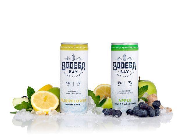 Refreshing Low-Sugar Hard Seltzers