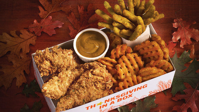Fast Food Thanksgiving Meals