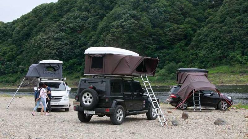 Car Top Camping Tents Hardtop One