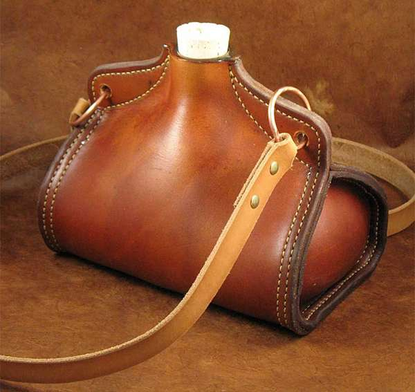 Medieval Leather Vessels