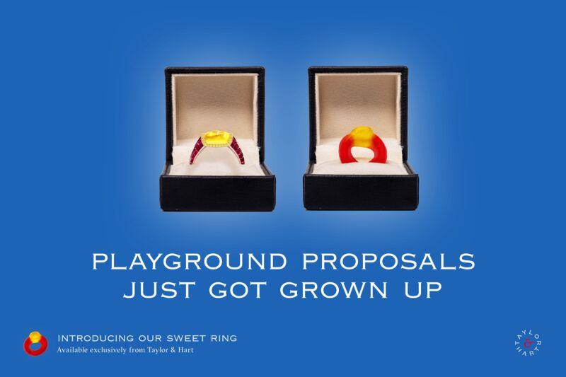 Stunning Gummy-Inspired Rings