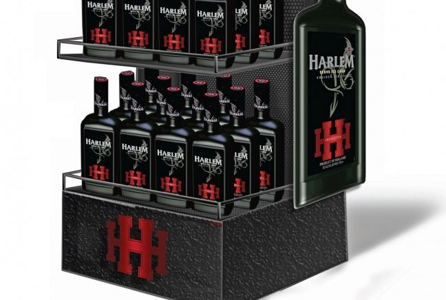 Masculine Liqueur Displays