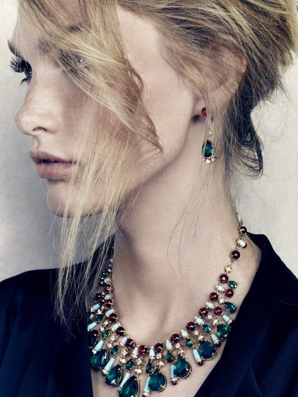 Swanky Jewel Editorials