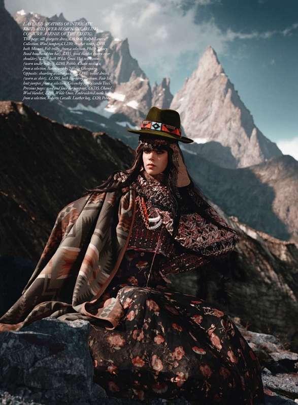 Mountainous Haute Couture
