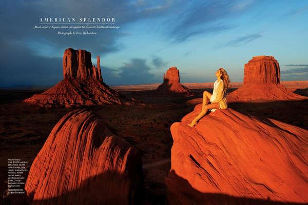 Glamorous Canyon Editorials
