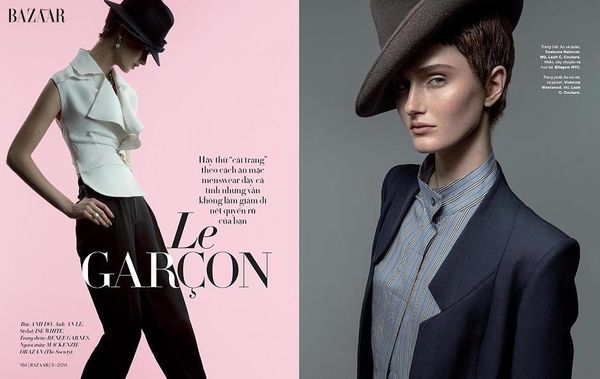 Charmingly Androgynous Editorials