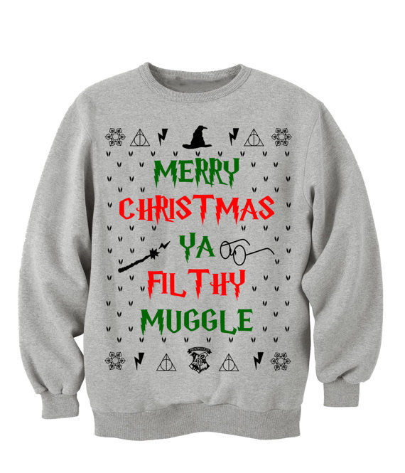 wizardly christmas sweaters