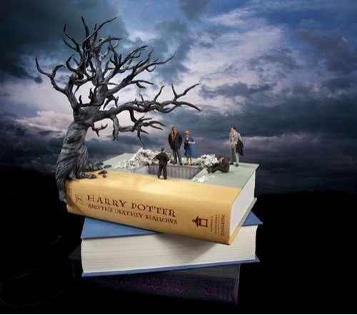 Wizard Book Mini Models