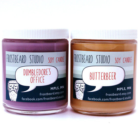 Wizard-Scented Candles