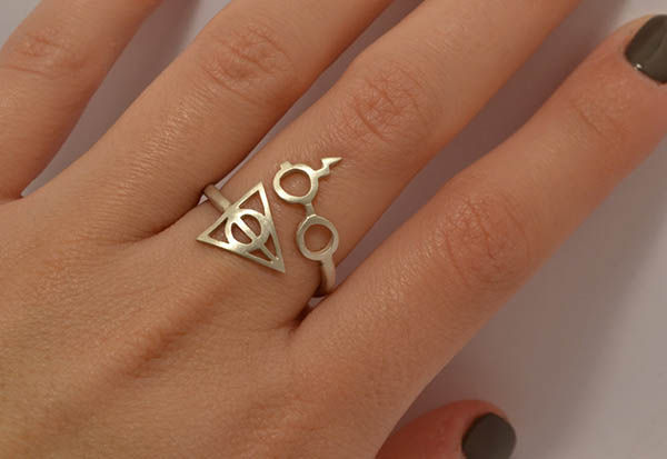 Cinematic Wizard Rings Harry Potter Ring
