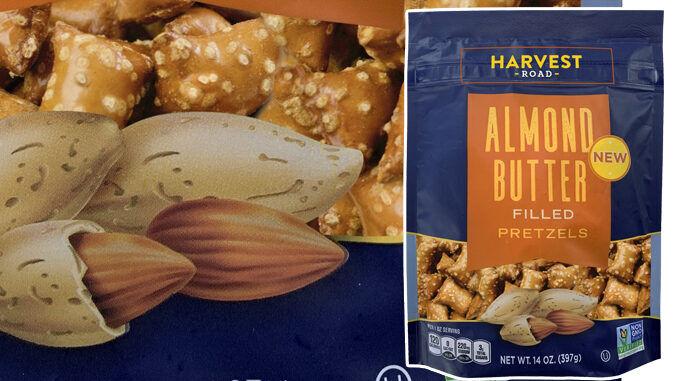 Nut Butter-Filled Pretzels