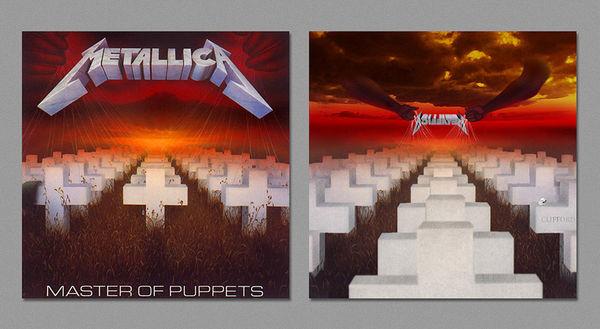 Reversed Album Covers