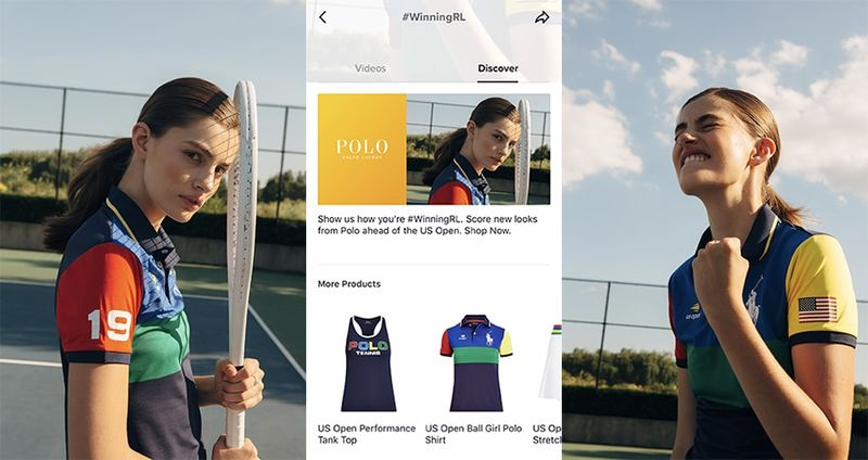 Sporty Hashtag Campaigns