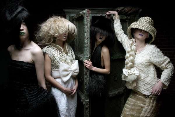 Hair-Mimicking Headwear