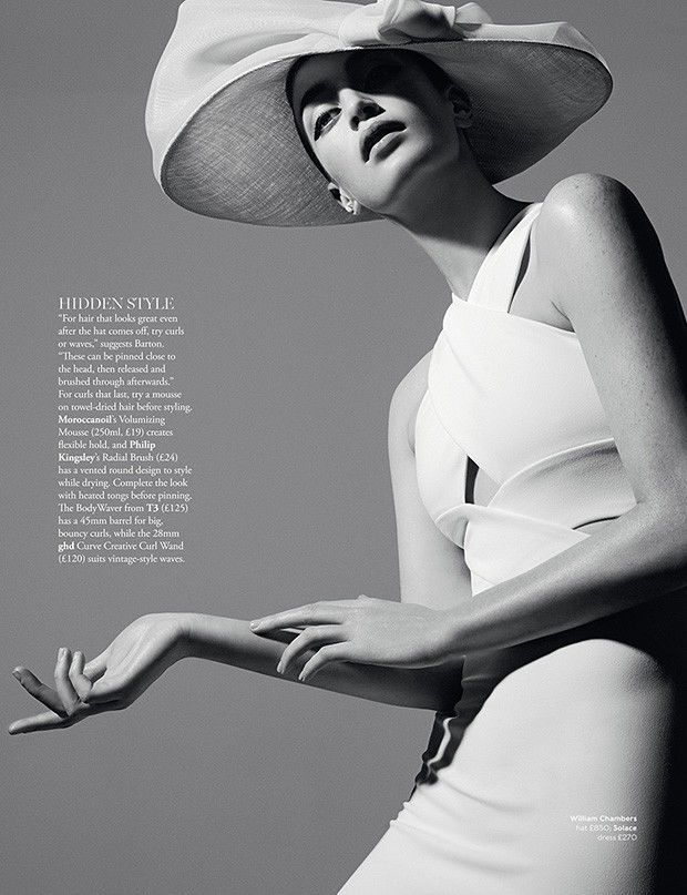 Retro Headwear Editorials