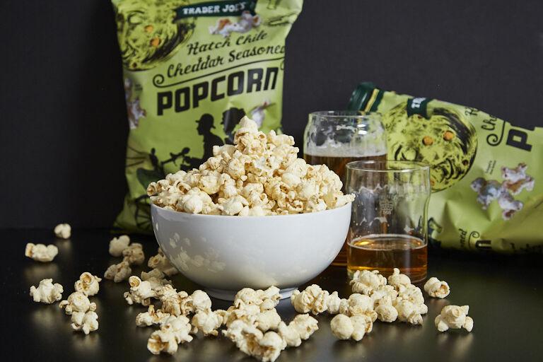 Hatch Chile-Seasoned Popcorn