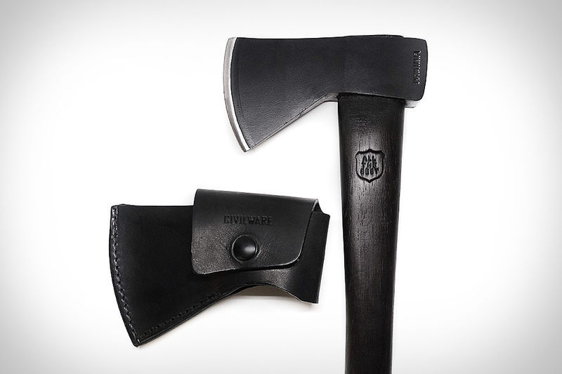 Carbon Leather Hatchets
