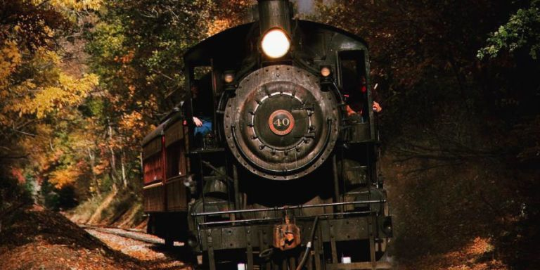 Haunted Halloween Train Rides