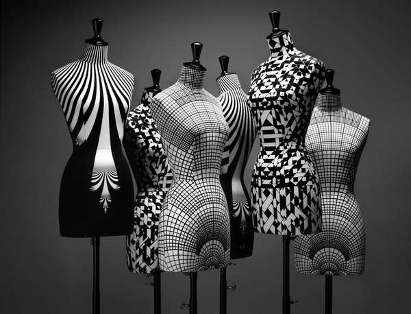 Psychedelic Mannequins Haute Couture Bust Collection