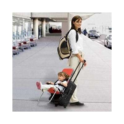 Rideable Luggage for Children: The Ride-On Carry-On Suitcase