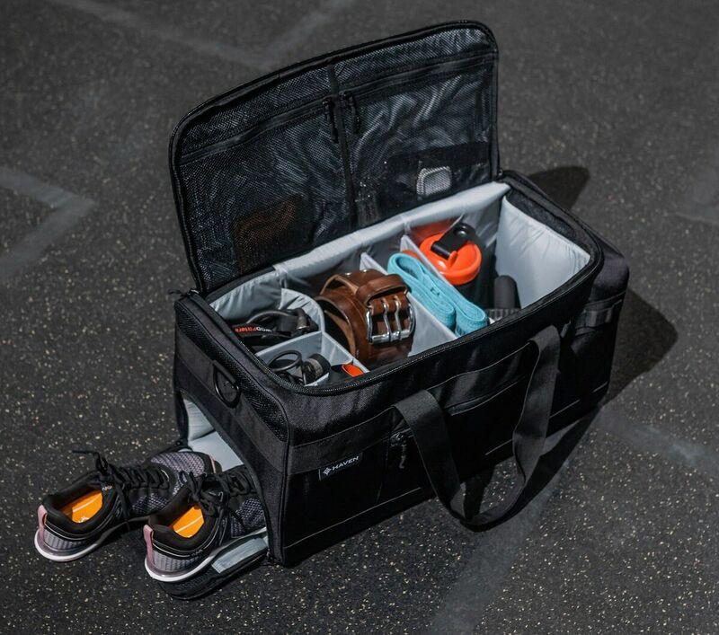 Compartmentalized Organization Gym Bags