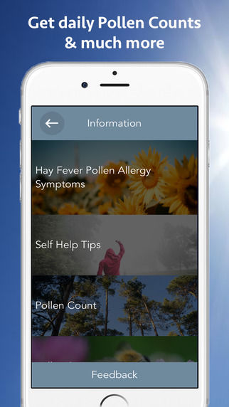 Hay Fever-Healing Apps