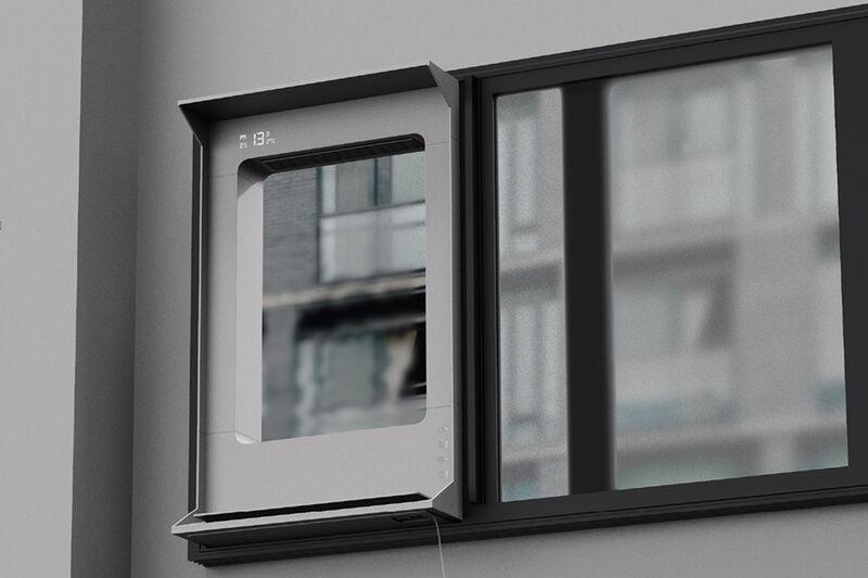 Window-Mounted Air Purifiers