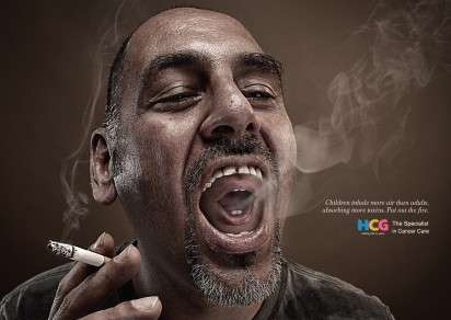 Creepy Dual-Smoker Ads