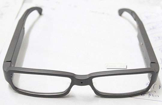 Hidden Camera Spectacles