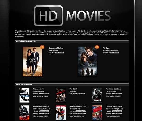 HD Movies on Demand