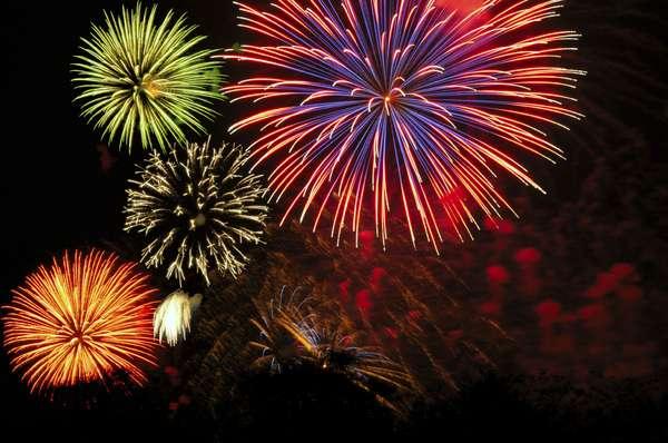 HDR Fireworks
