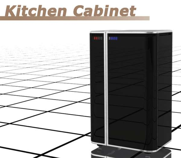 Concealed Mobile Kitchens
