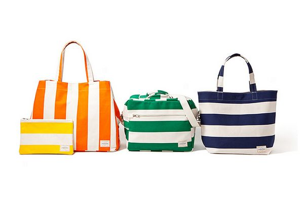 Boldly Striped Bags