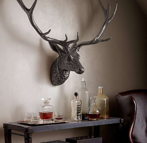 Metallic Stag Taxidermy