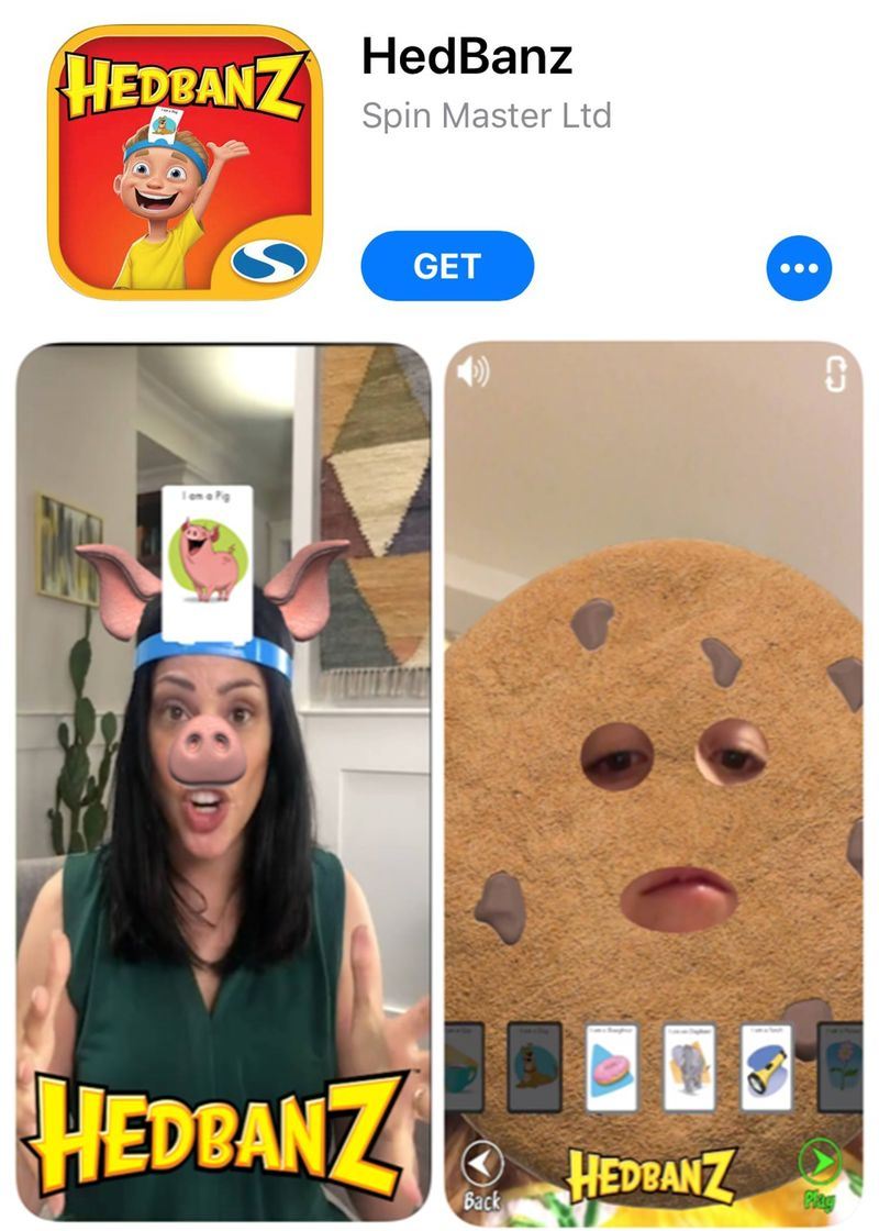 Face-Augmenting Gaming Apps