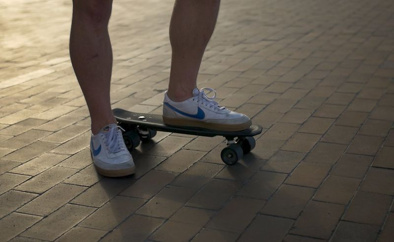 Remote-Free Electric Skateboards