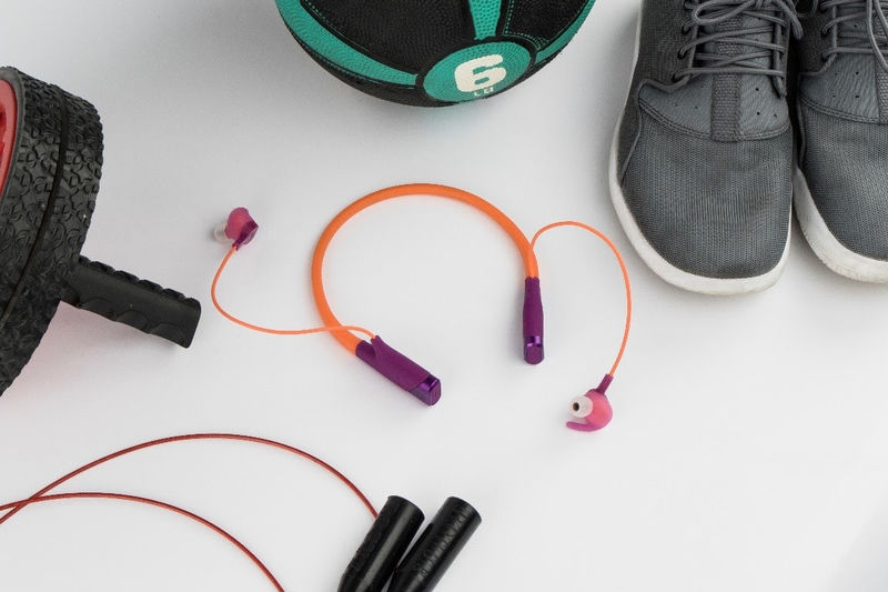 Heart Rate-Monitoring Wireless Headphones