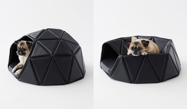 Transformative Geometric Pet Beds