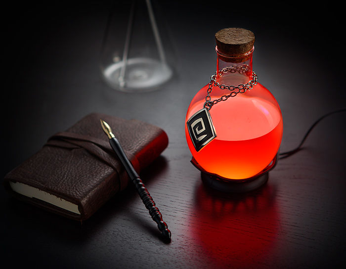 LED Potion Lamps