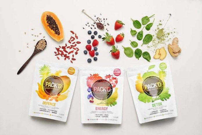 Superfood Frozen Smoothie Kits