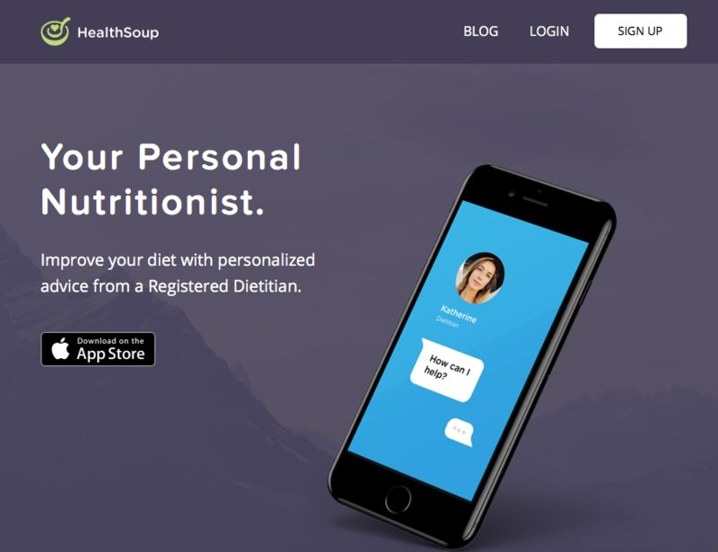 One-on-One Dietitian Apps