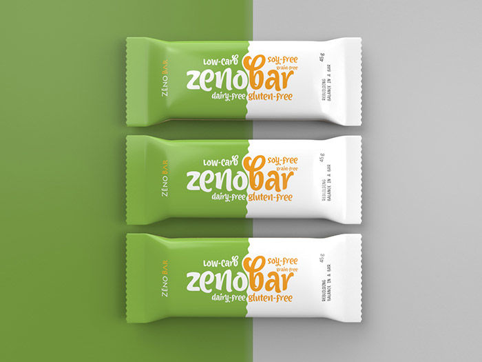 Conceptual Snack Bar Packaging