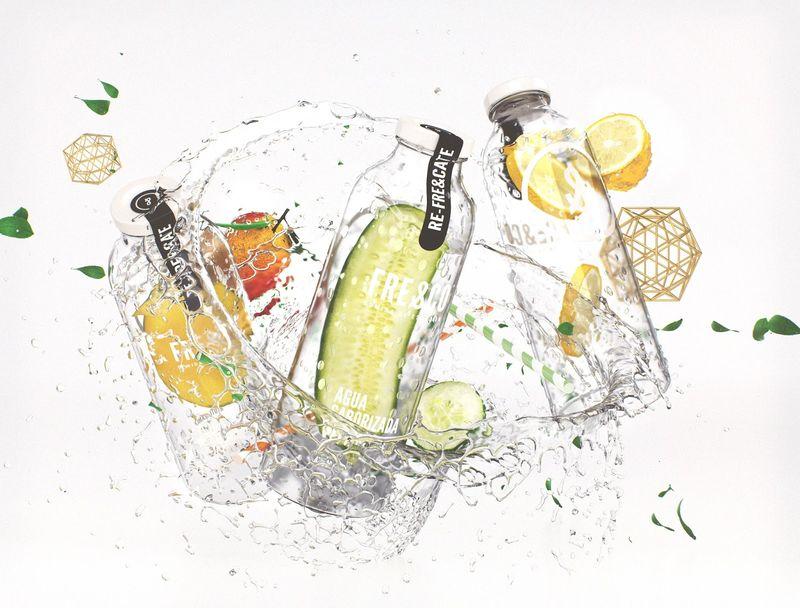 Healthy Flavored Water Bottles