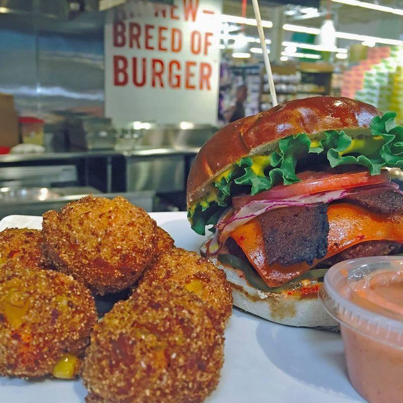 In-Store Burger Bars