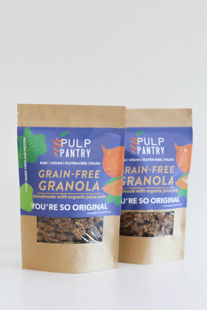 Juice Pulp Granolas