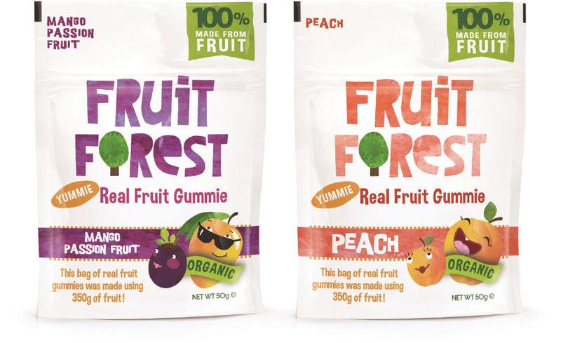 Low-GI Fruit Gummies