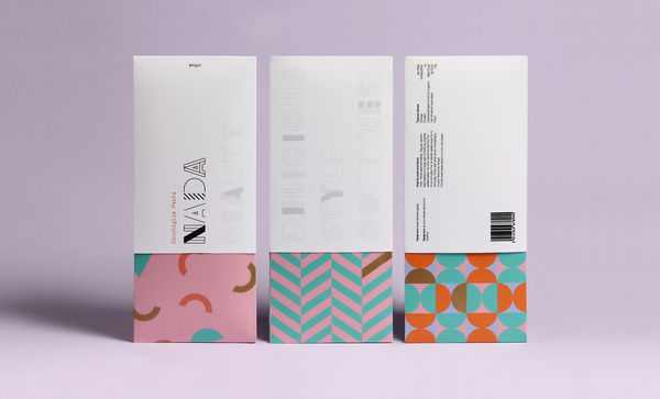 Geometric Lifestyle Packaging